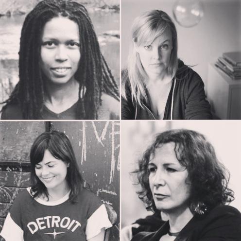 Evie Shockley, Suzanne Buffam, Damian Rogers, Trish Salah