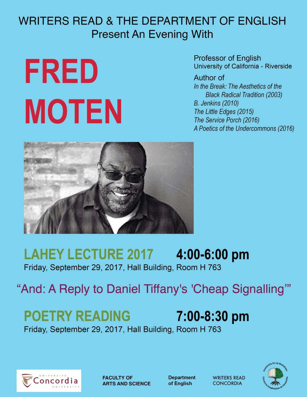 Lahey Lecture 2017 Poster
